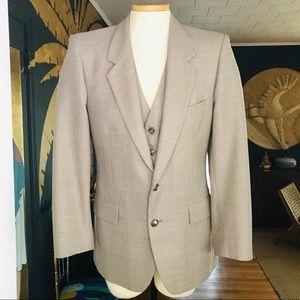 Vintage Yves Saint Laurent Suit Blazer/Vest